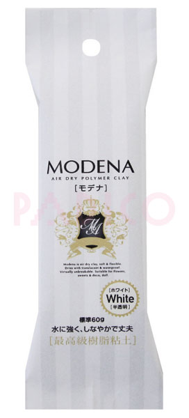 Modena White-S 60g Clay - Click Image to Close