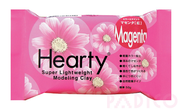 Hearty Magenta 50g Modeling Clay