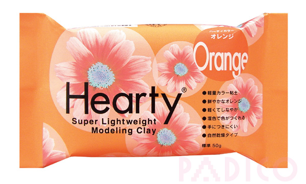 Hearty Orange 50g Modeling Clay