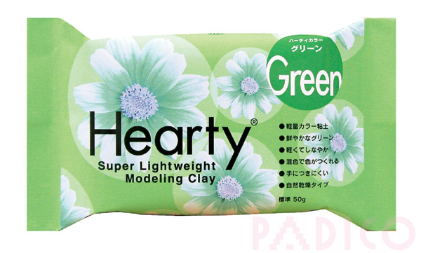 Hearty Green 50g Modeling Clay