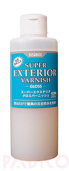 Super Exterior Varnish Gloss