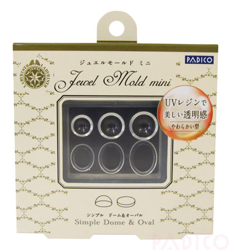 Jewel Mold Mini Simple Dome & Oval