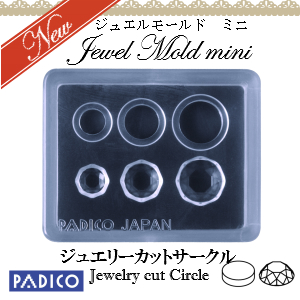 Jewel Mold Mini Jewelry Cut Circle