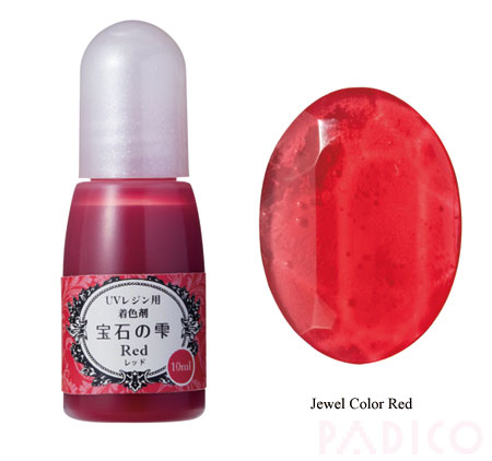 Jewel Color Red