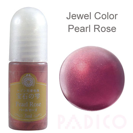 Jewel Color Pearl Rose