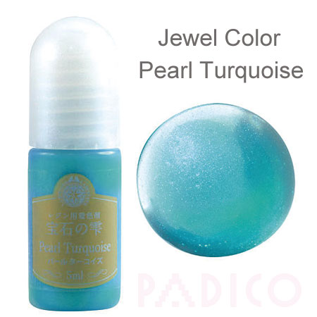 Jewel Color Pearl Turquoise