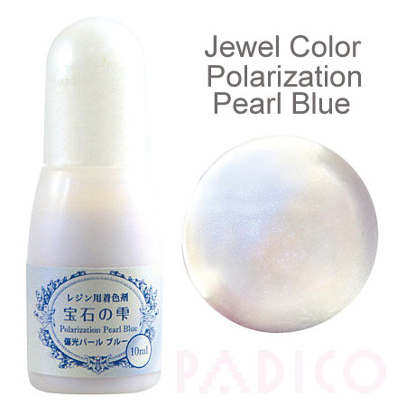 Jewel Color Polarization Pearl Blue