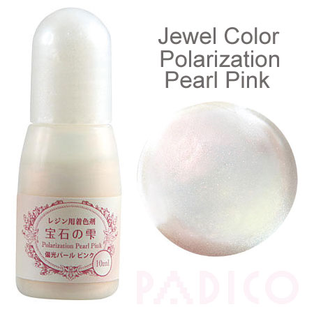 Jewel Color Polarization Pearl Pink