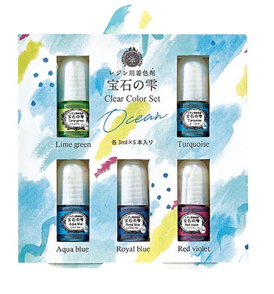Jewel Clear Color Set Ocean