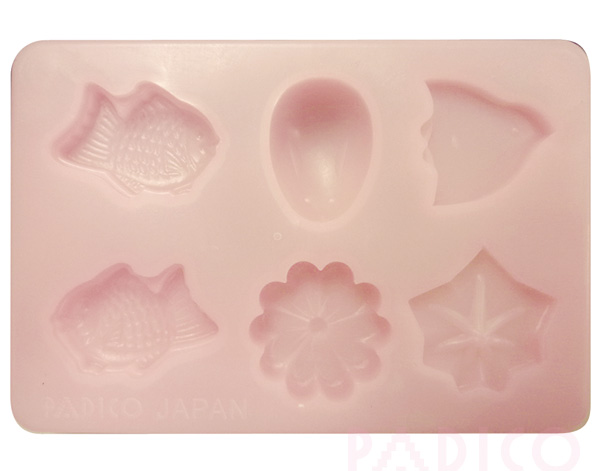 Clay Mold Japanese Sweets (PE)