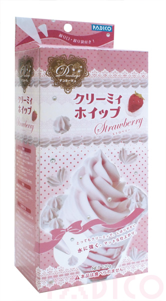 Creamy Whip Strawberry kit