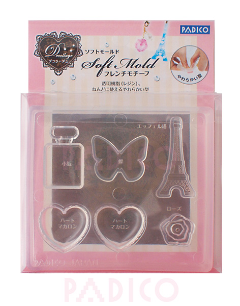 Soft Clay Mold French Motif (PP)