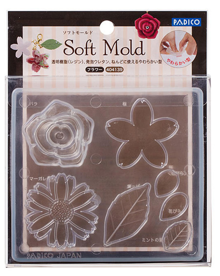 Soft Clay Mold Flower (PP)