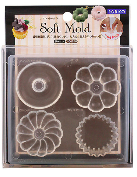 Soft Clay Mold Donuts (PP)