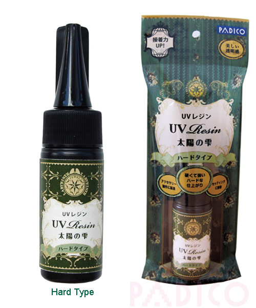 PADICO UV Curing Resin Hard Type 25g