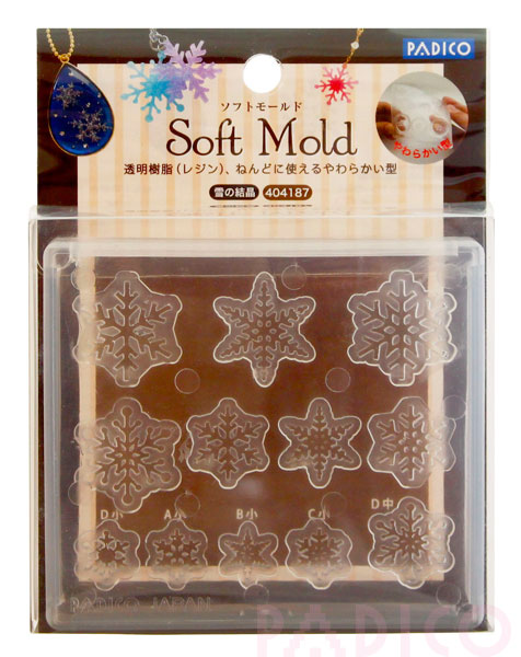 Soft Mold Snow Crystal
