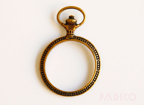 Round Pocket Watch Frame Setting C