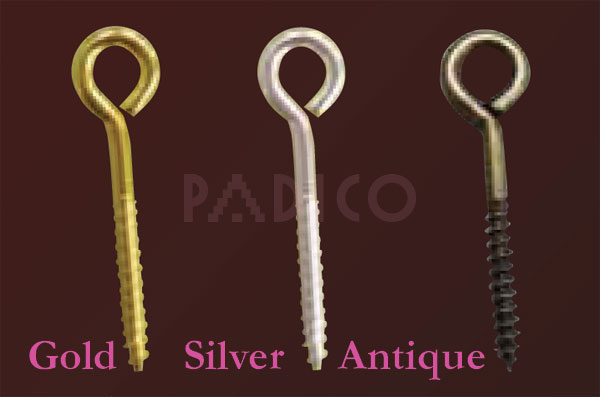 Eye Bolt Gold (10 pcs)