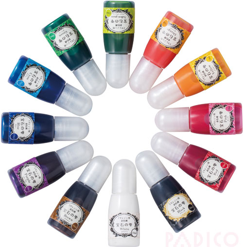 12 pigments Jewel Color set