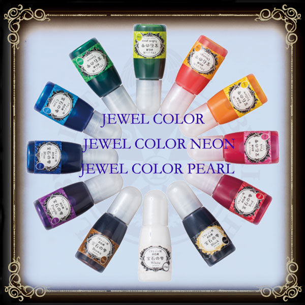 Jewel Color & Jewel Neon Color