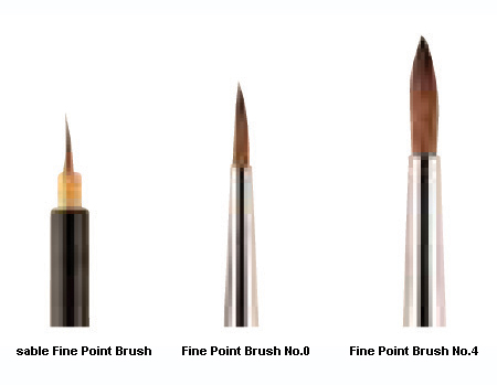 Sable Fine Point Brush